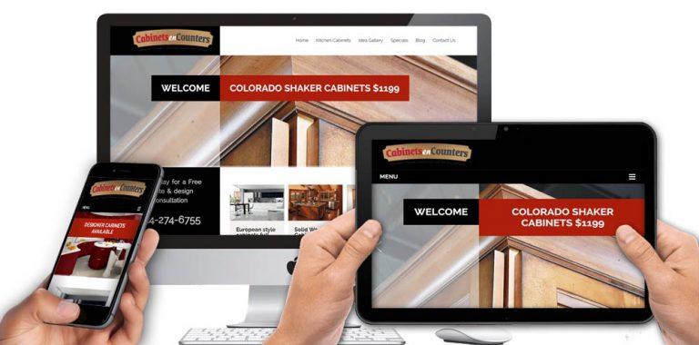 Cabinetsencounters-website-design