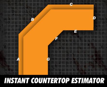 Countertop Estimator : Instant Countertop Estimator (ICE)