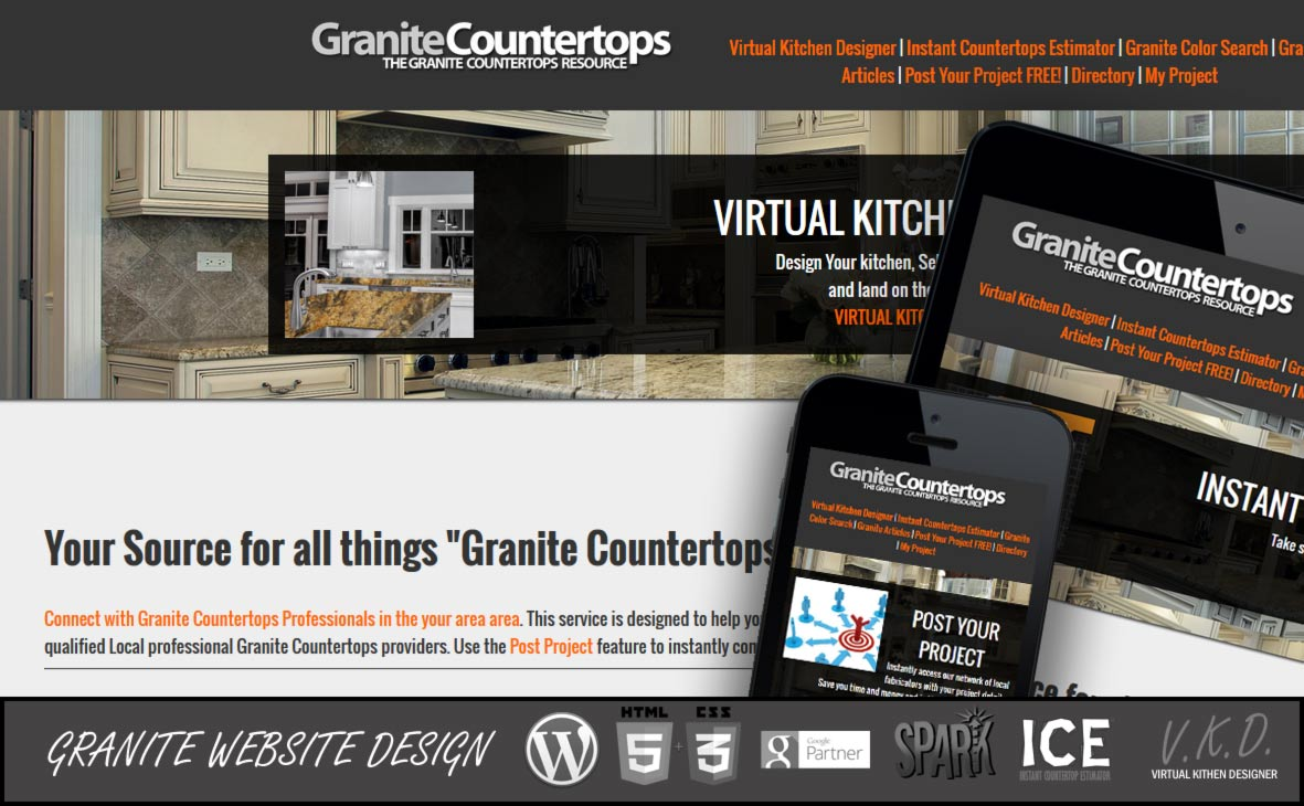 Granite Website Designs Fireups Local Marketing