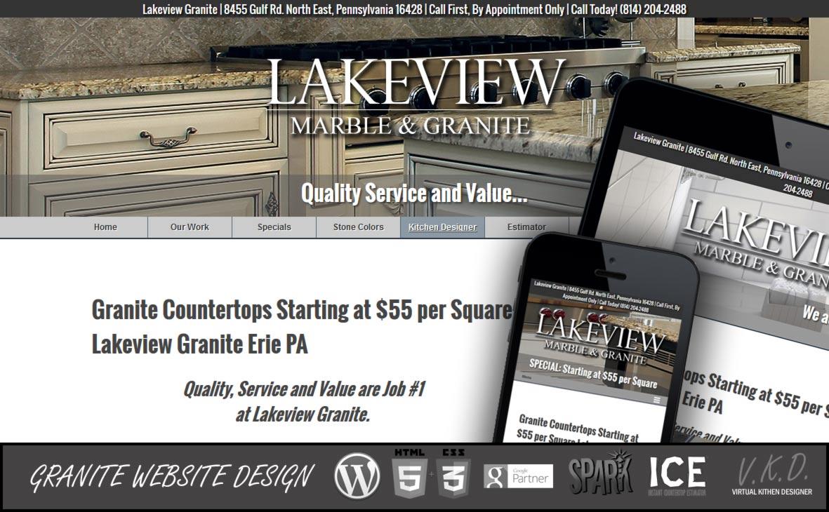 Granite-Website-Design-erie-PA