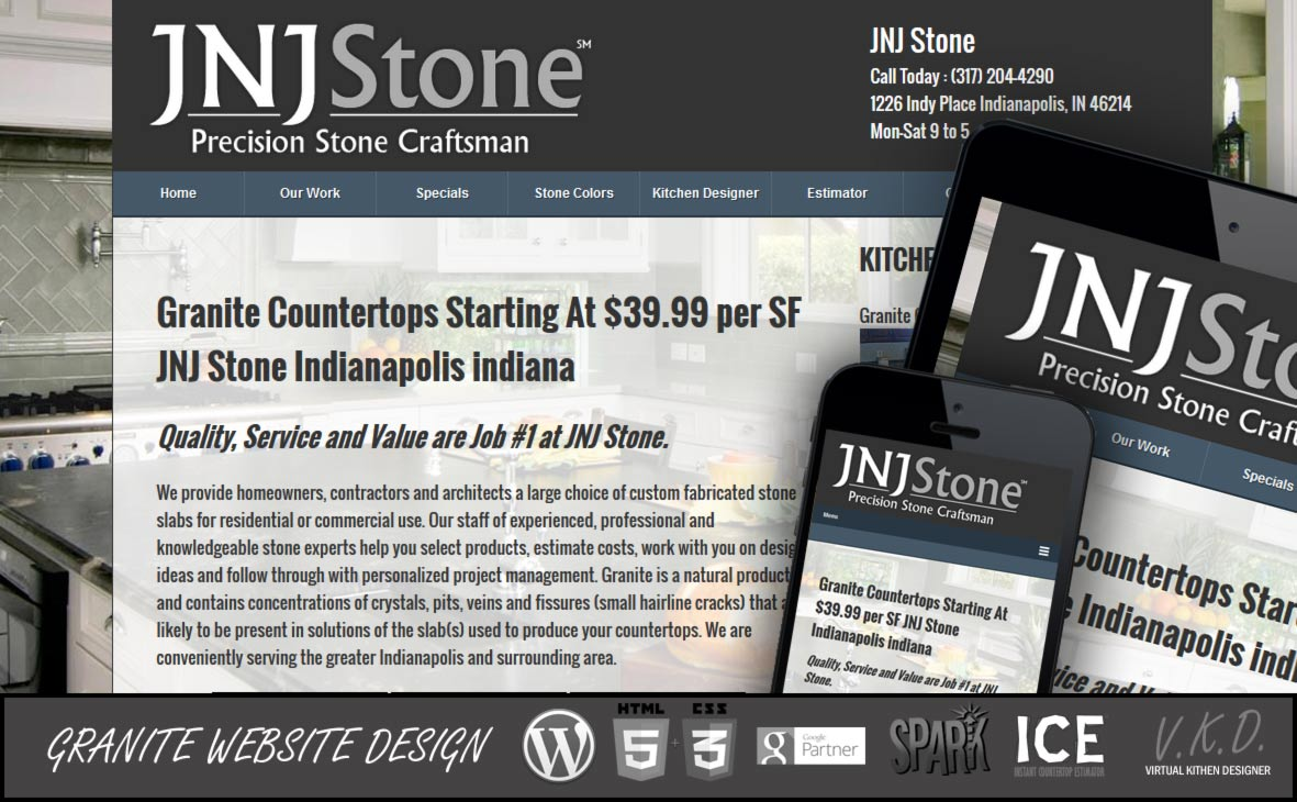 Top Granite Countertops Domains! - FireUps Local Marketing   Local ...