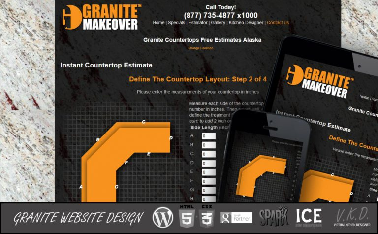 5 reason You need to redesign your granite countertop website