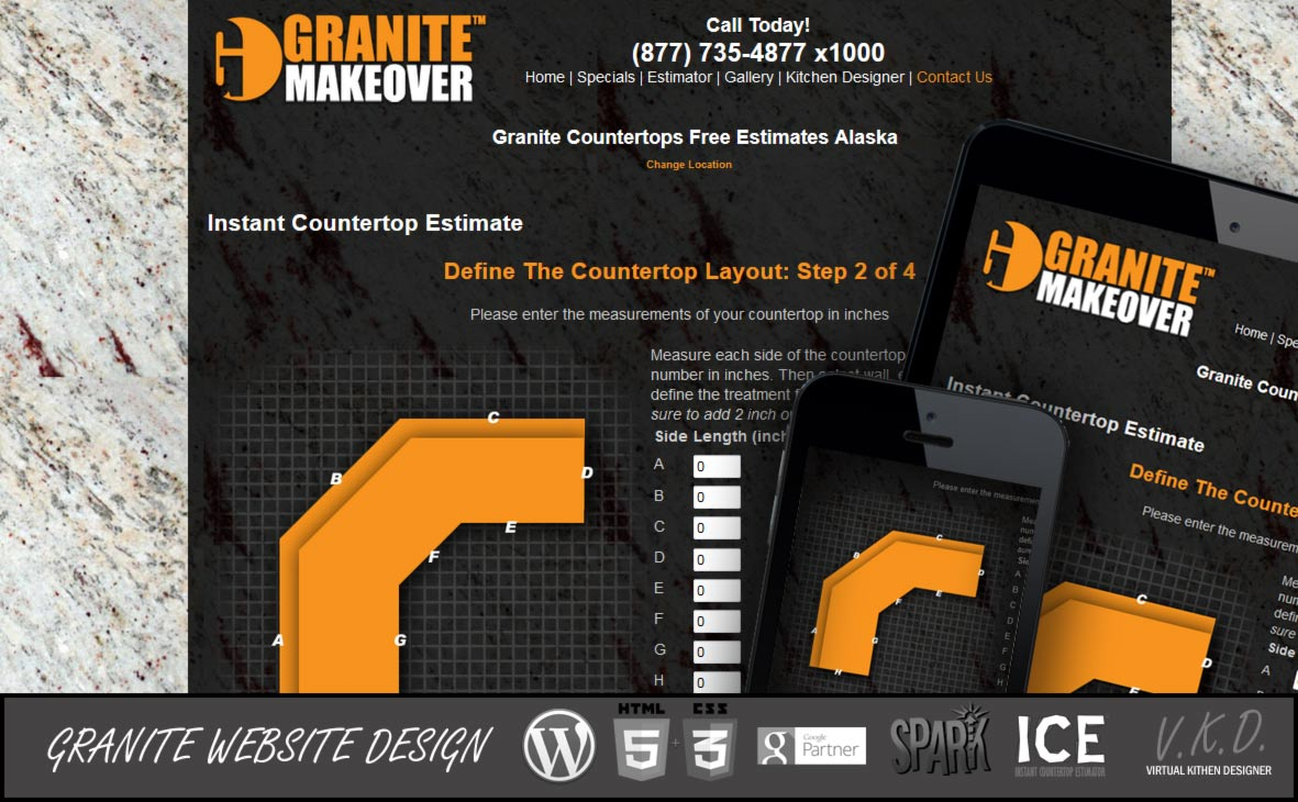 Granite-Website-Design-Estimator