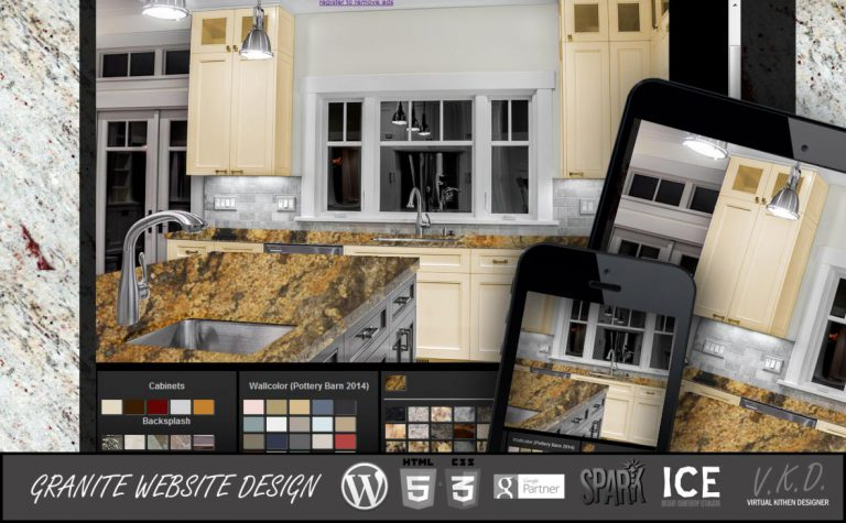 New Virtual Kitchen Designer Release - Free Version Available - Granite Marketing
