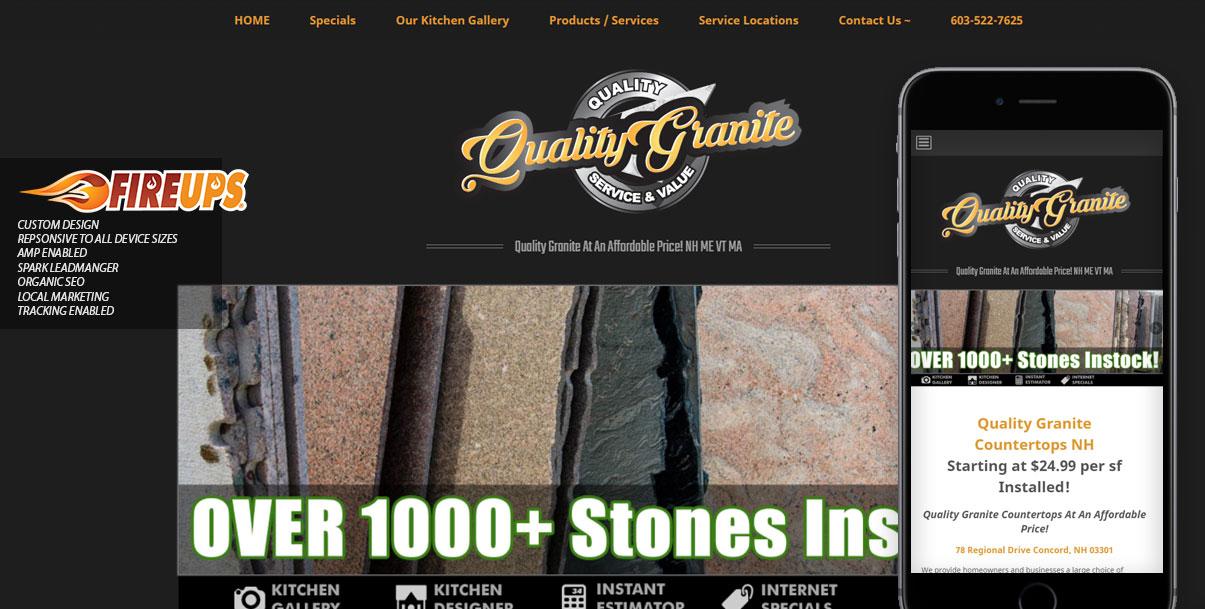 NH-granite-countertops-website-design – FireUps Local