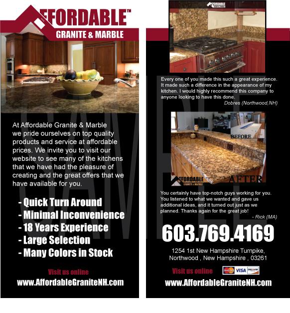 template for granite countertops - print brochure branding business card creative