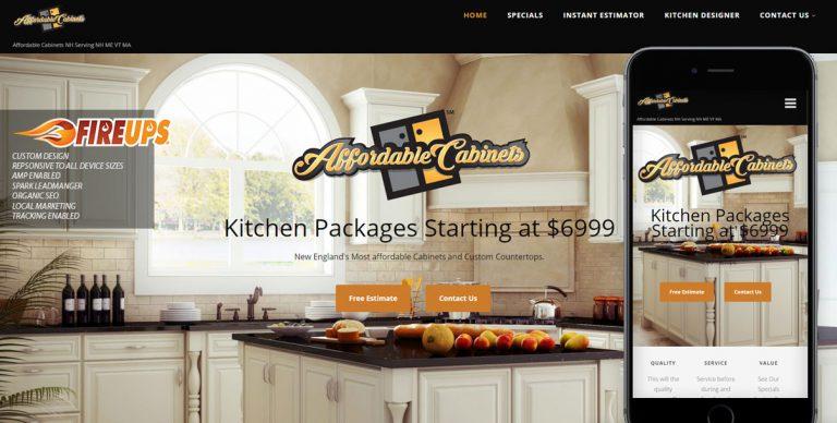 Cabinet Website Design