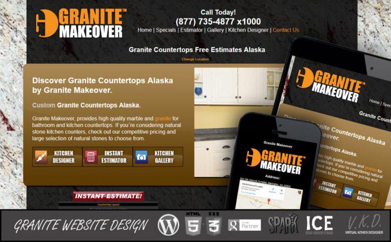 Countertop Website Design