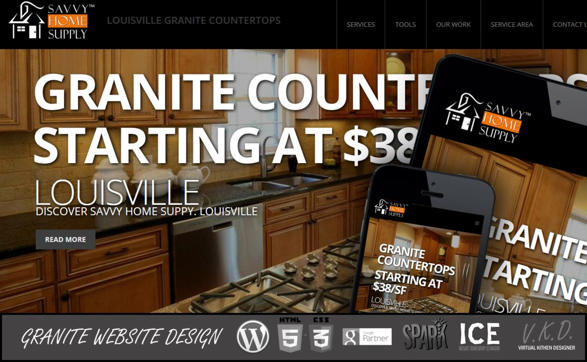 Granite Countertops Website Gallery