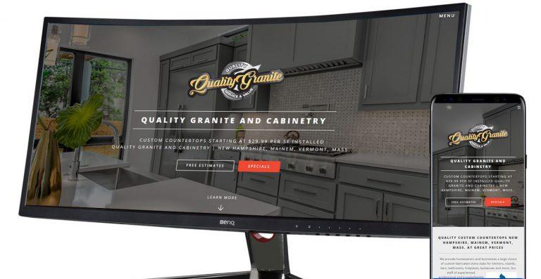 2020 Countertop Website Design
