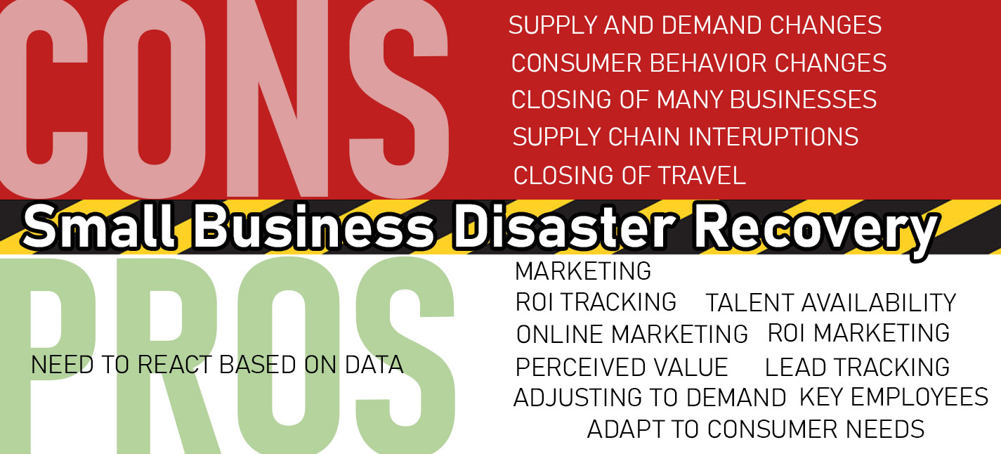 Small Business Disaster Recovery - How your small business will recover from covid-19